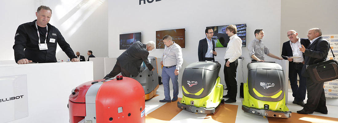 Discover the future of professional cleaning and hygiene at Interclean Amsterdam 2018