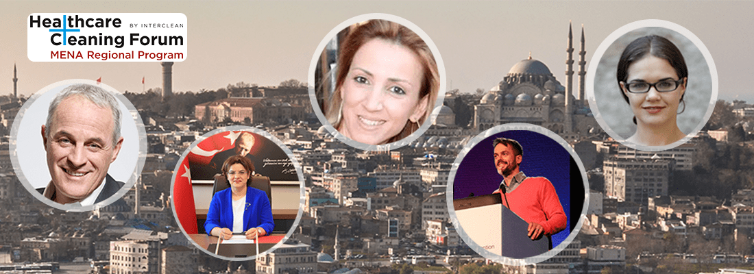 The five healthcare cleaning experts you can't afford to miss at Interclean Istanbul 2019