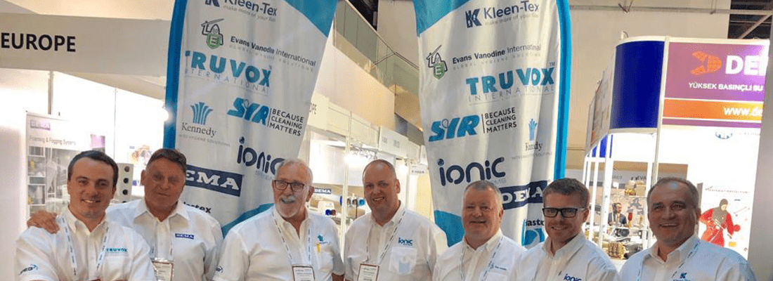 Kleen-Tex breaks into Turkish market after exhibiting at Interclean Istanbul