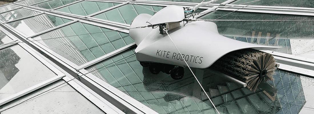 A ROBOT IS THE NEW ADDITION TO THE CLEANING STAFF AT THE CENTRAL STATION OF UTRECHT