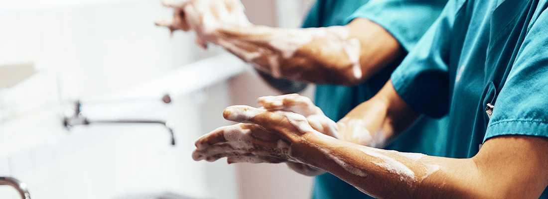 Infection prevention through proper hospital cleaning